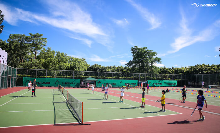 2017 SUNNY Junior cup tournament 兒童網球
