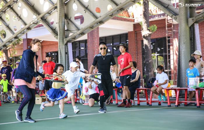 2017 SUNNY Junior cup 陽光 兒童 網球 幼兒 kid