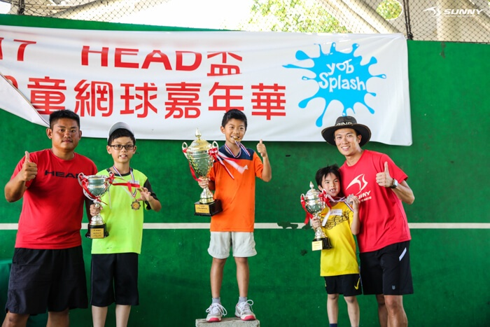 SUNNY Junior cup 陽光 兒童 網球 幼兒 kid